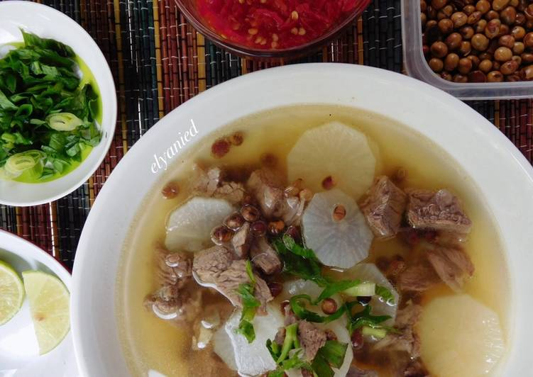 Image result for soto daging bandung