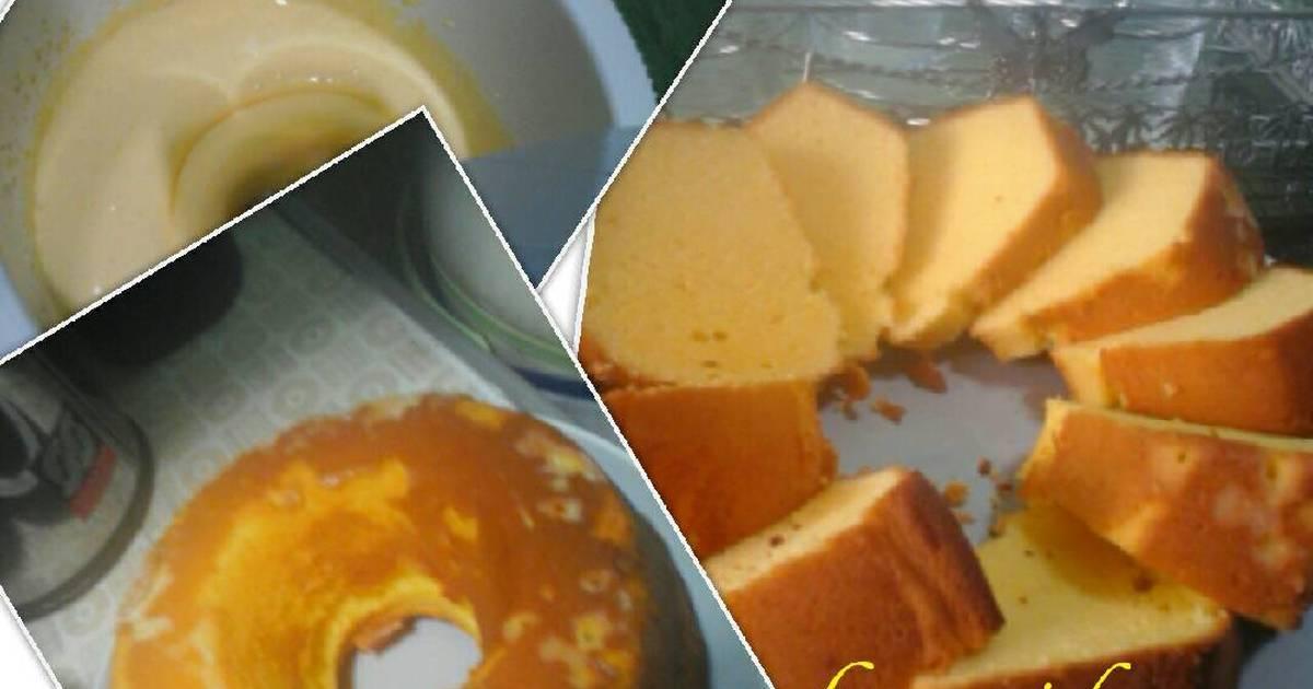 Resep Bolu panggang kuning telur