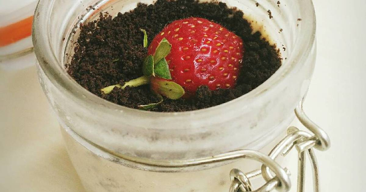 Resep Oreo Cheese Cake In Jar