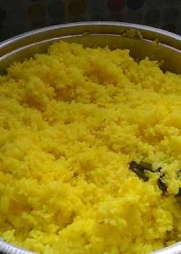 Nasi kuning liwet sederhana