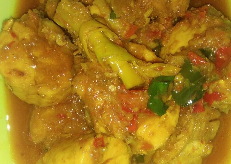 ayam ayam masak ungkep  santan Resepi Kari Daging Tanpa Santan Enak dan Mudah