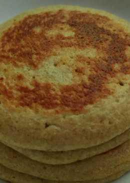 Pancake oat pisang telur