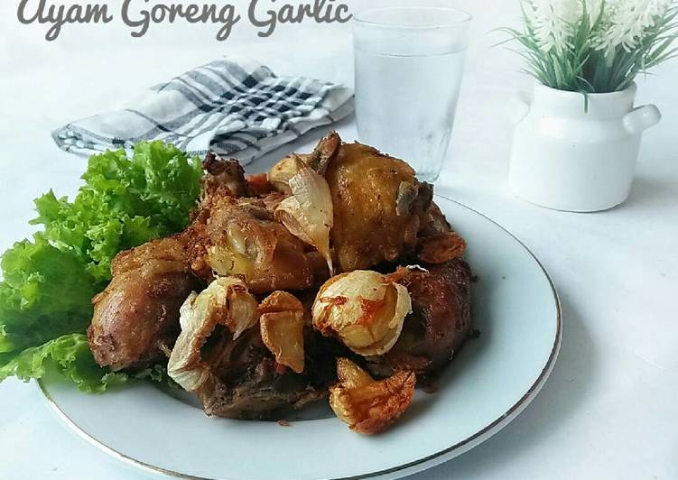 Ayam Goreng Garlic