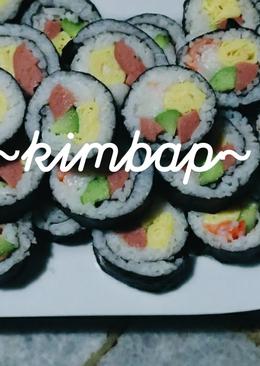 Simple kimbap