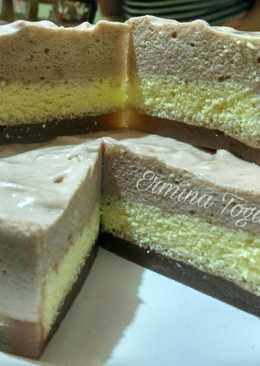 Cheesecake puding busa DEBM/Ketofy