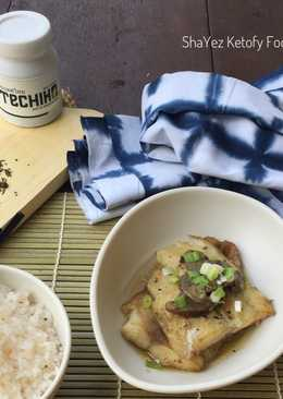 Techiko GreenTea Steam Fish #keto_cp_techiko