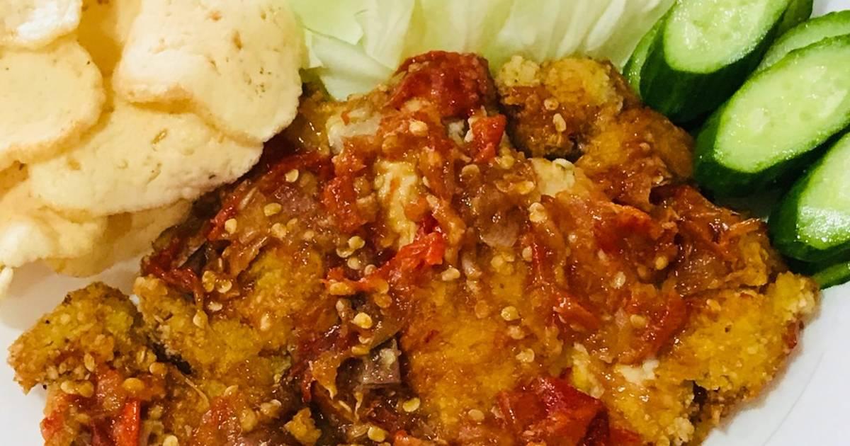 378 resep ayam penyet enak dan sederhana   cookpad
