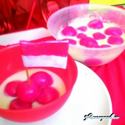 Bugis pengantin merdeka #merahputih