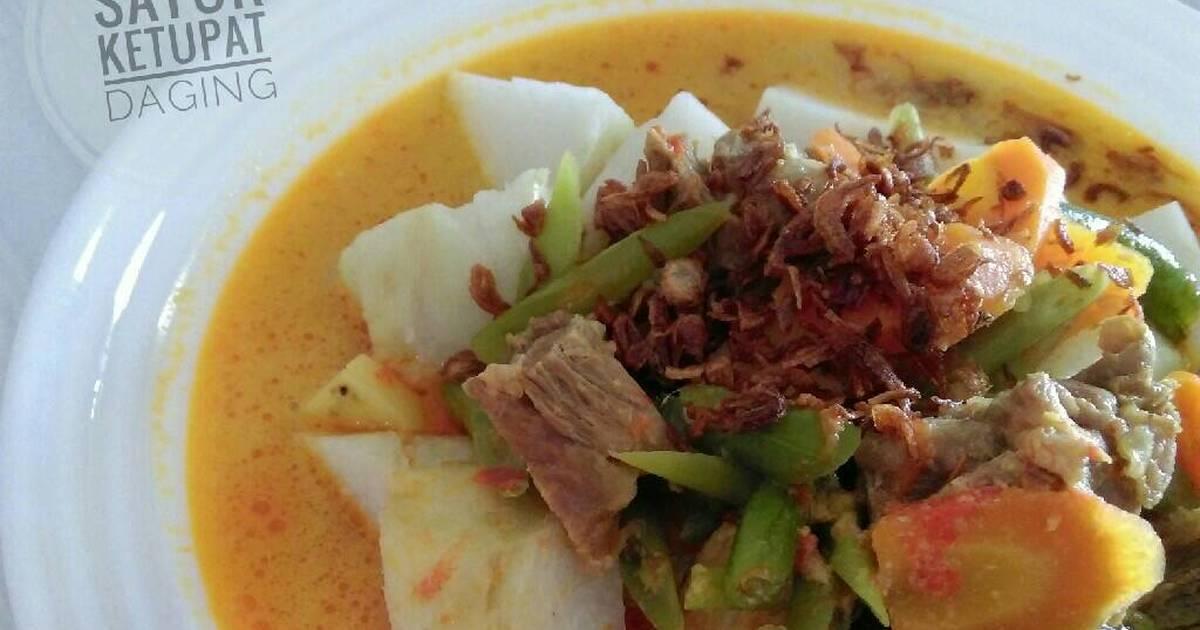 ketupat sayur   55 resep   cookpad