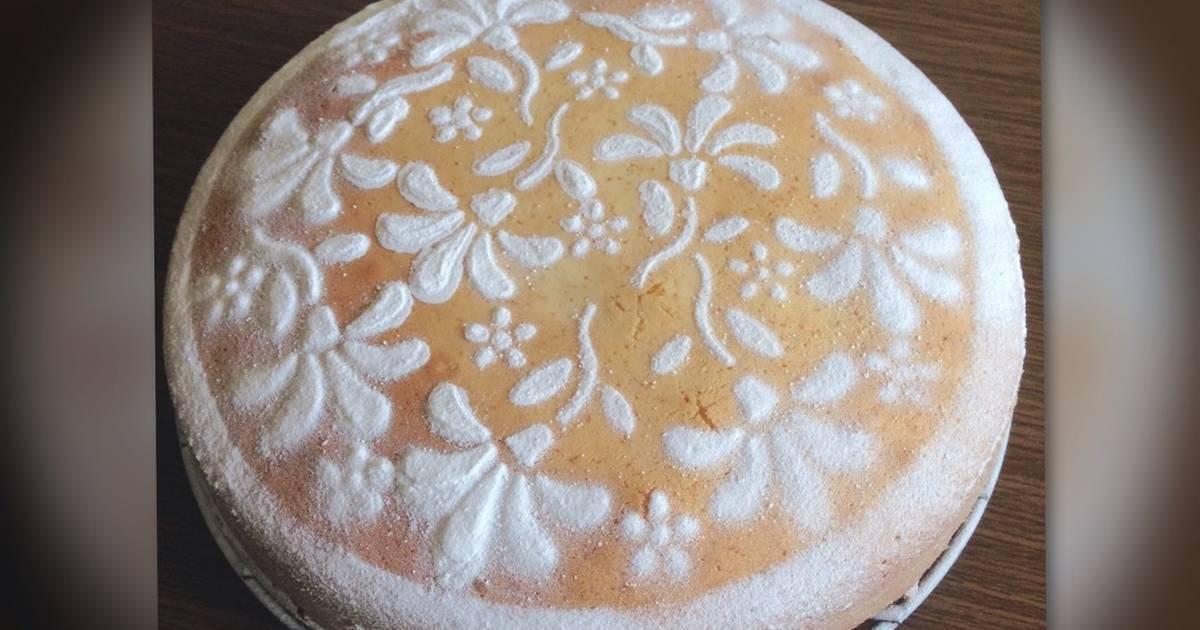 Resep Bolu Air / Water Sponge Cake