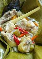 Garang asem ayam kampung #pr_masakanbungkusdaun