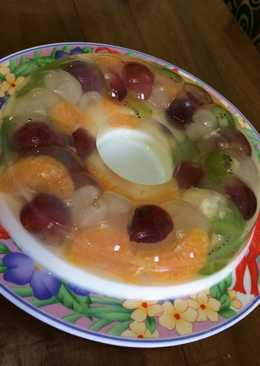 Pudding buah susu