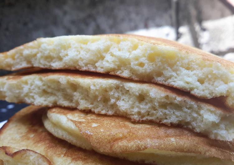 Resep Banana Cake Ala Jepang: Resep Resep Fluffy Souffle Pancake (Pancake Super Empuk