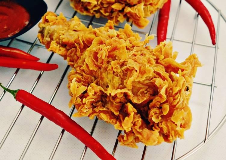 Ayam KFC KW Super Kribo | Renyah Tahan 8 Jam | Cocok Untuk Jualan foto resep utama