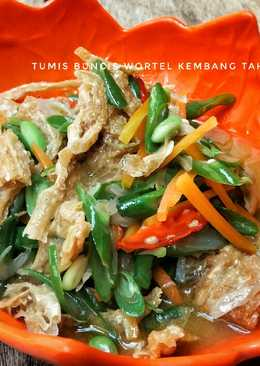 Tumis Buncis Wortel & Kembang Tahu