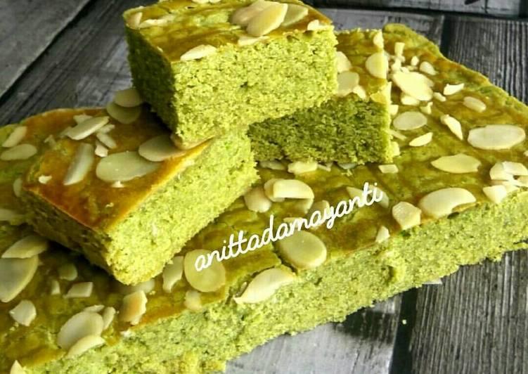 resep masakan Boterkoek Holland Matcha