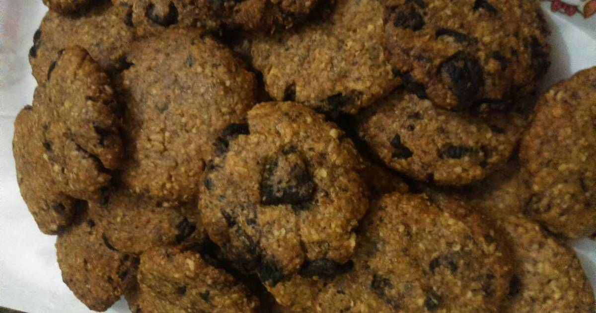 Resep Oatmeal Cookies with Oreo