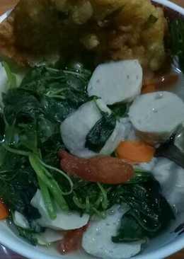 Sup bayam segerr dan simple