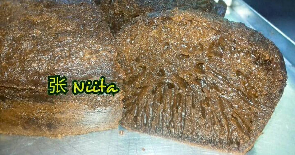 Resep Cake Caramel aka Sarang Semut