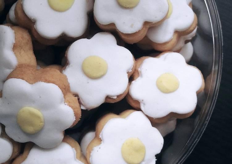 Resep Cara Membuat Fondant Flower Cookies Mudah Resep Ala Chef