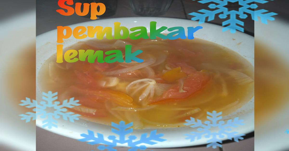Cara Membuat Sup Pembakar Lemak