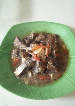 Ikan kering masak asam