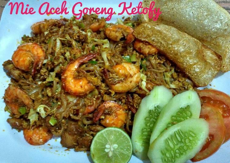 Mie Aceh Goreng Ketofy #Ketopad_CP_OlahanShirataki