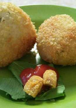 Rice Ball (Nasi Kepal) - Onigiri ala Indonesia