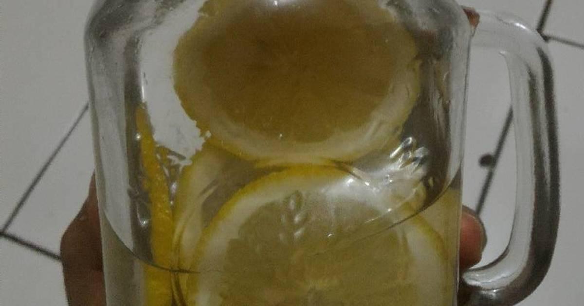 "Resep Infused Water ""Lemon with honey"""
