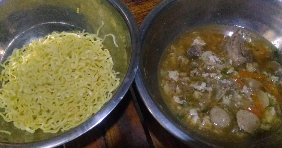 resep mi siram kuah kaldu ayam amp putih telur saus inggris