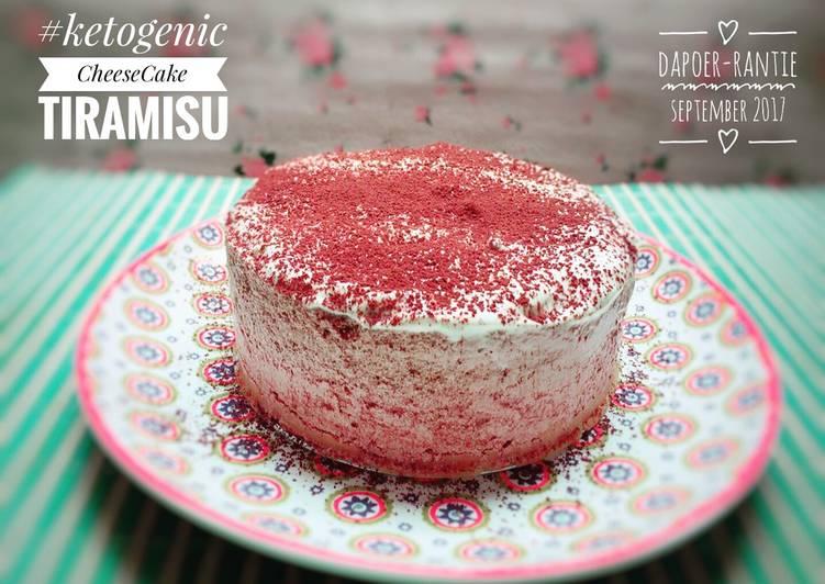 Resep Cheese Cake Tiramisu Keto Ala Rantie Oleh Ranti