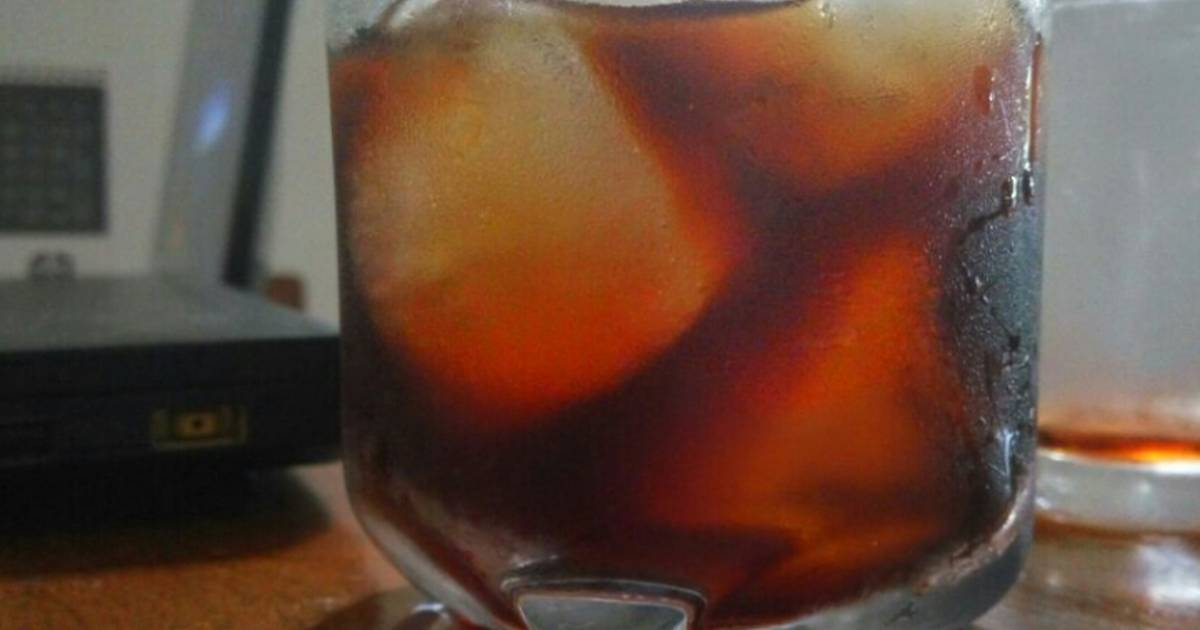 Resep Cold brew coffee
