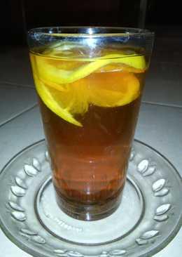 Day 28 : Lemon tea panas (menu buka puasa)