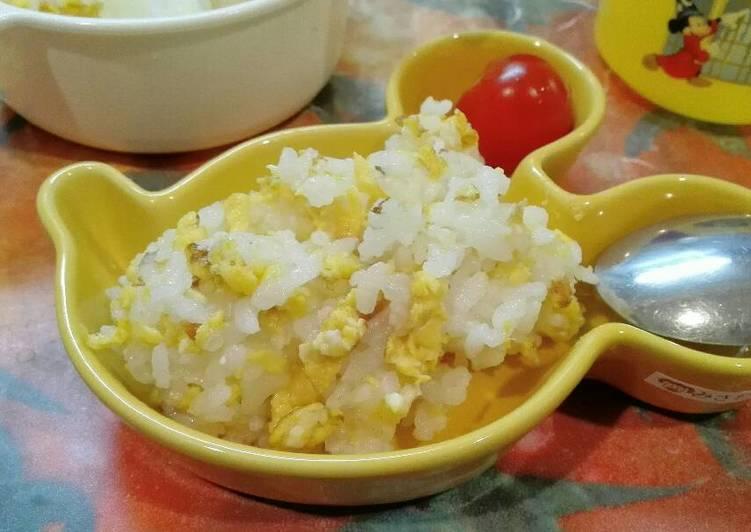 Nasi telor - Tamago gohan