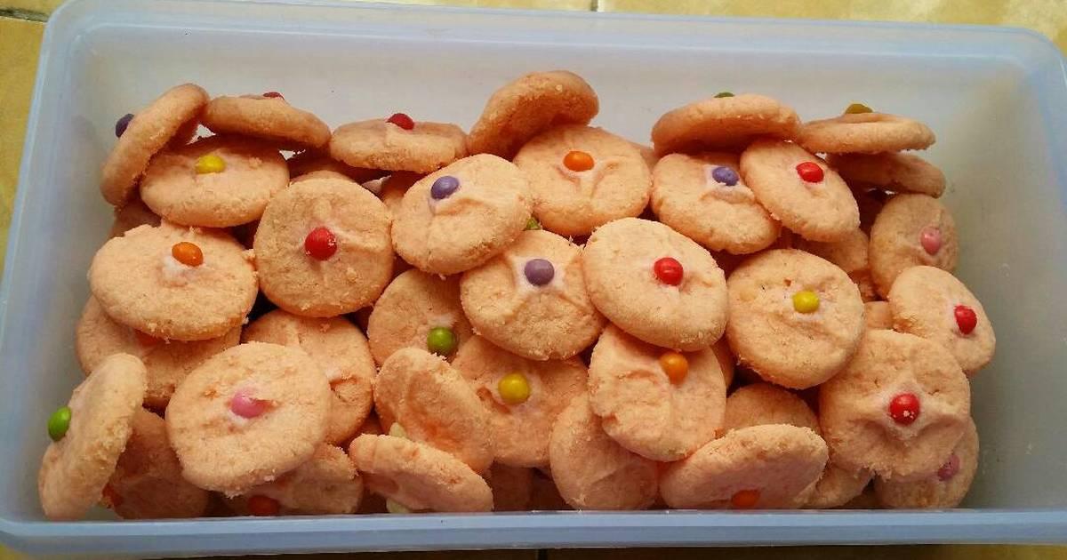 Resep Crunchy sake cookies