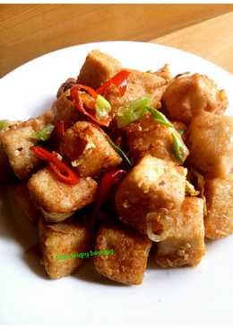 Tahu crispy bawang