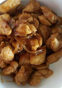 Ayam teriyaki simple non msg