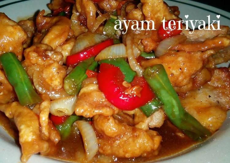 Resep Ayam Goreng Tepung Teriyaki 1juta Resep Masakan Nahzila
