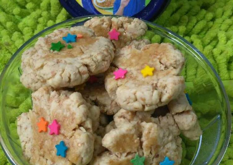 Cookies kacang gandum no telur