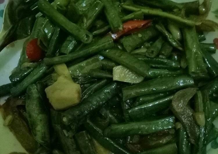 resep makanan Sayur kacang sehat porsi 2 orang