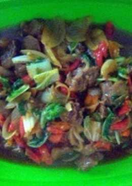 Daging Sapi masak saos teriyaki simple #BikinRamadanBerkesan