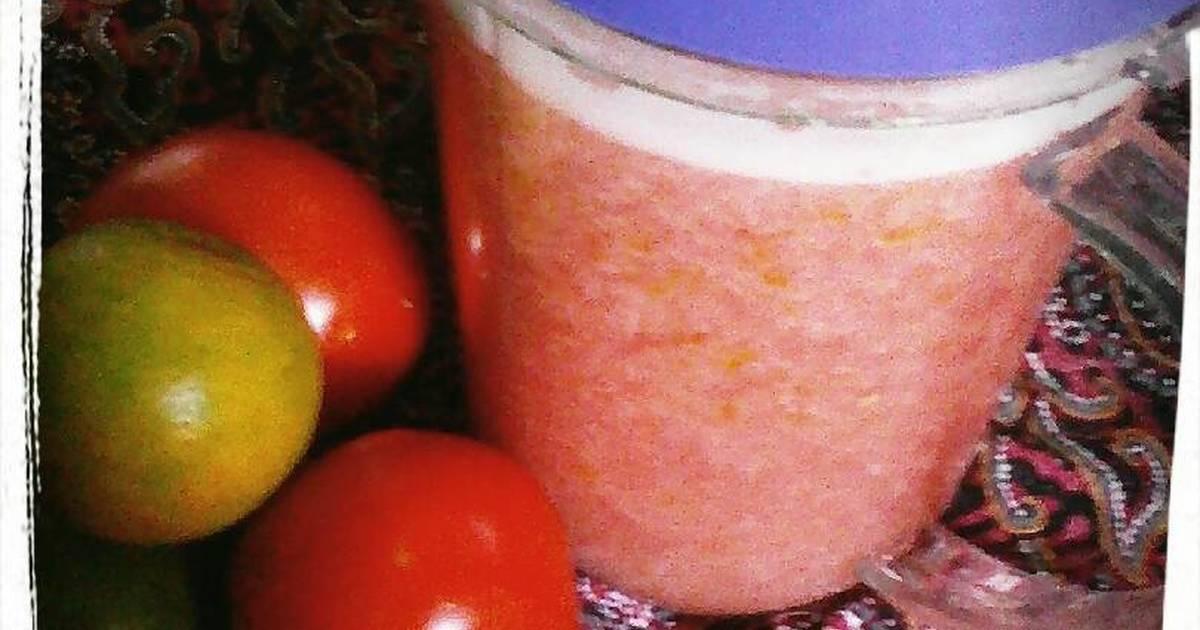 Resep Jus TomJeri (Tomat Jeruk Mini) 😁❤🍅🍊