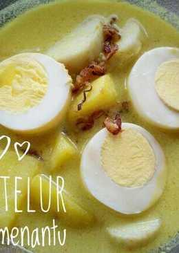 Opor telur #recookandmodified