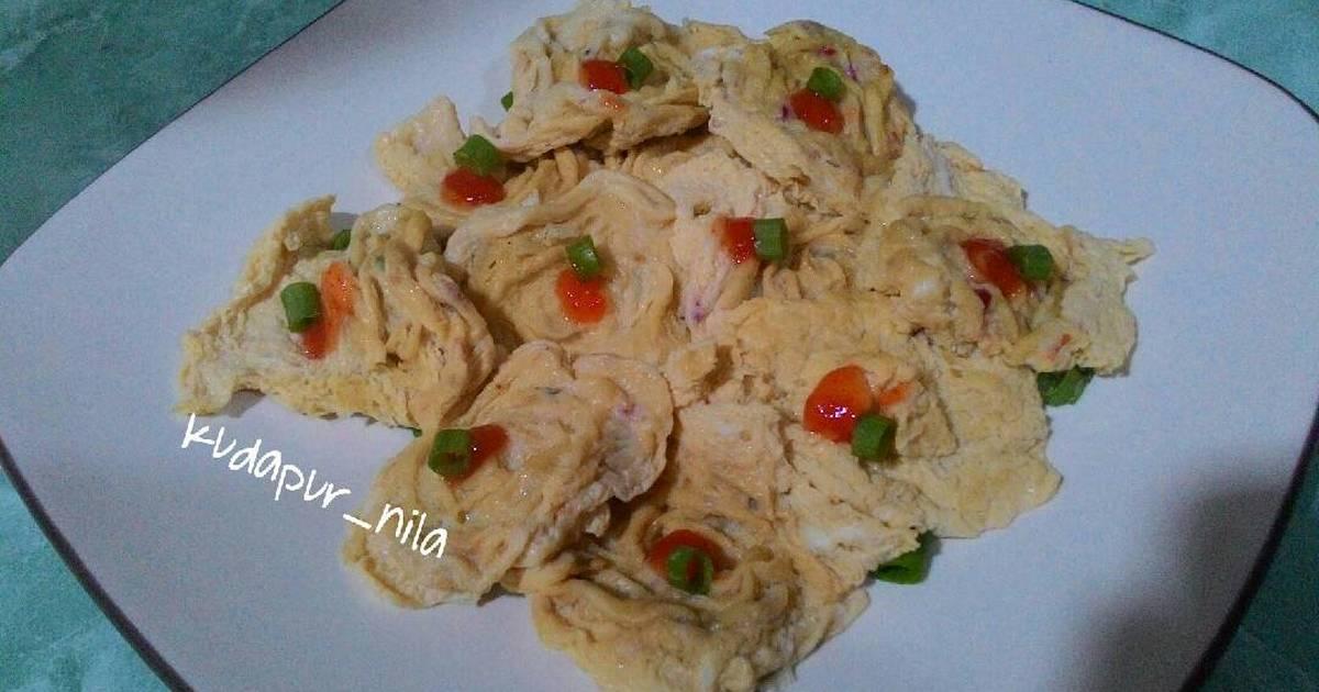 Resep Ayam Goreng Saus Telur Asin Creamy a la Eatlah