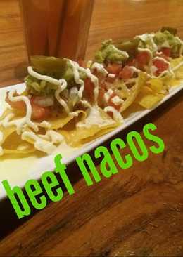 Beef nacos