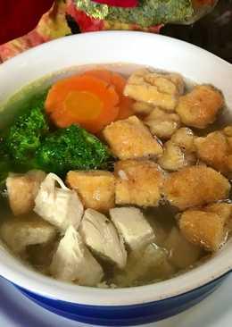 Sup Udang Goreng dan Ayam#ketopad_CP_anekasoup