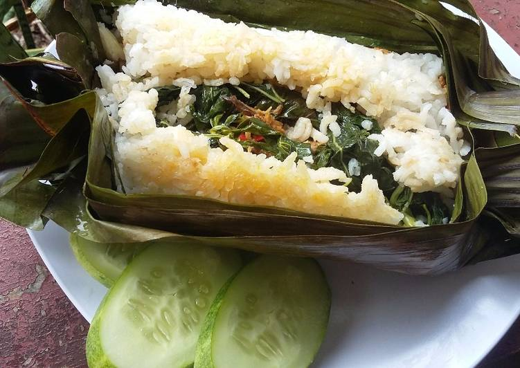 Resep Nasi bakar ikan tongkol rica rica By Ika Lufhaj'
