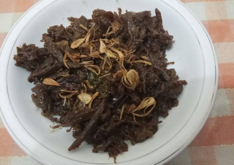 Daging Suwir Bumbu Empal