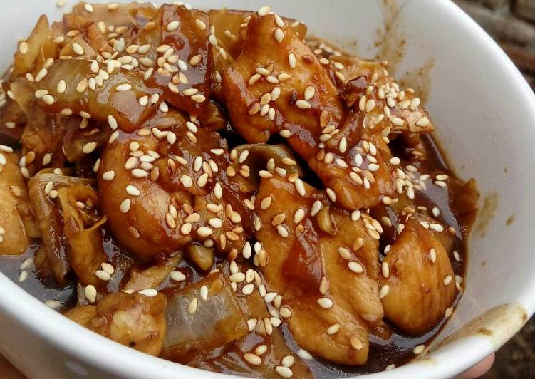 Resep Kembang Tahu Ayam Saus Teriyaki Dari Uni Al Islams