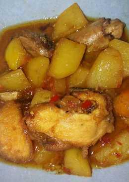 Semur ayam dan kentang #bikinramadhanberkesan